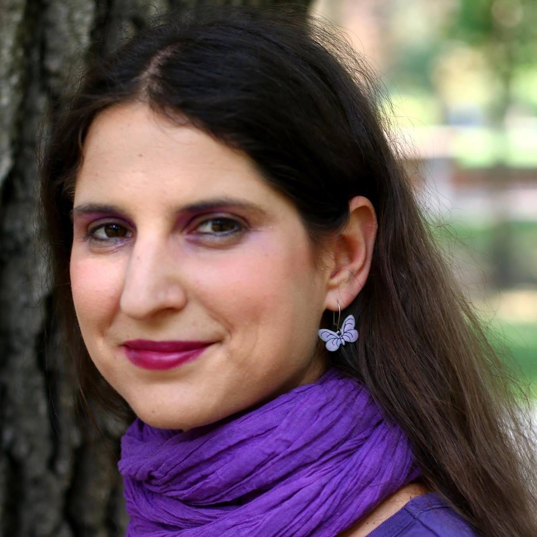 Lovaranits Júlia mesemondó (Havas Eszter fotója)
