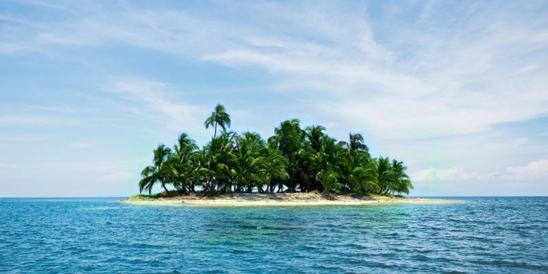 header kép egy szigetről